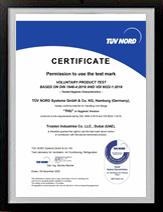 Certifications TUV