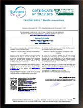 Certifications Eurovent